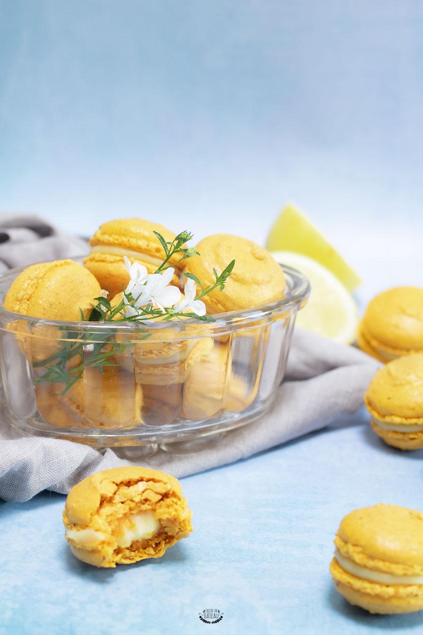 macaron citron maison