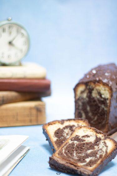 marbré vanille chocolat lignac