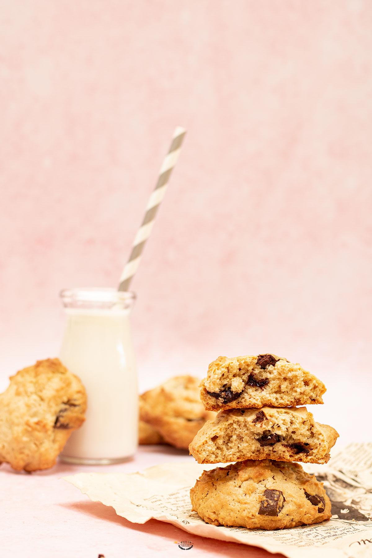 recette de cookies aux flocons d'avoine