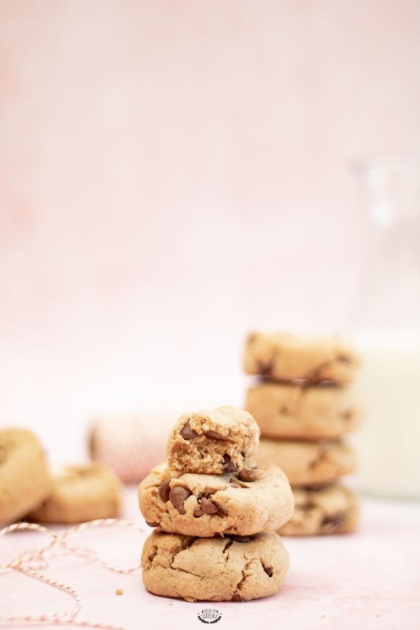 recette cookies noisette chocolat