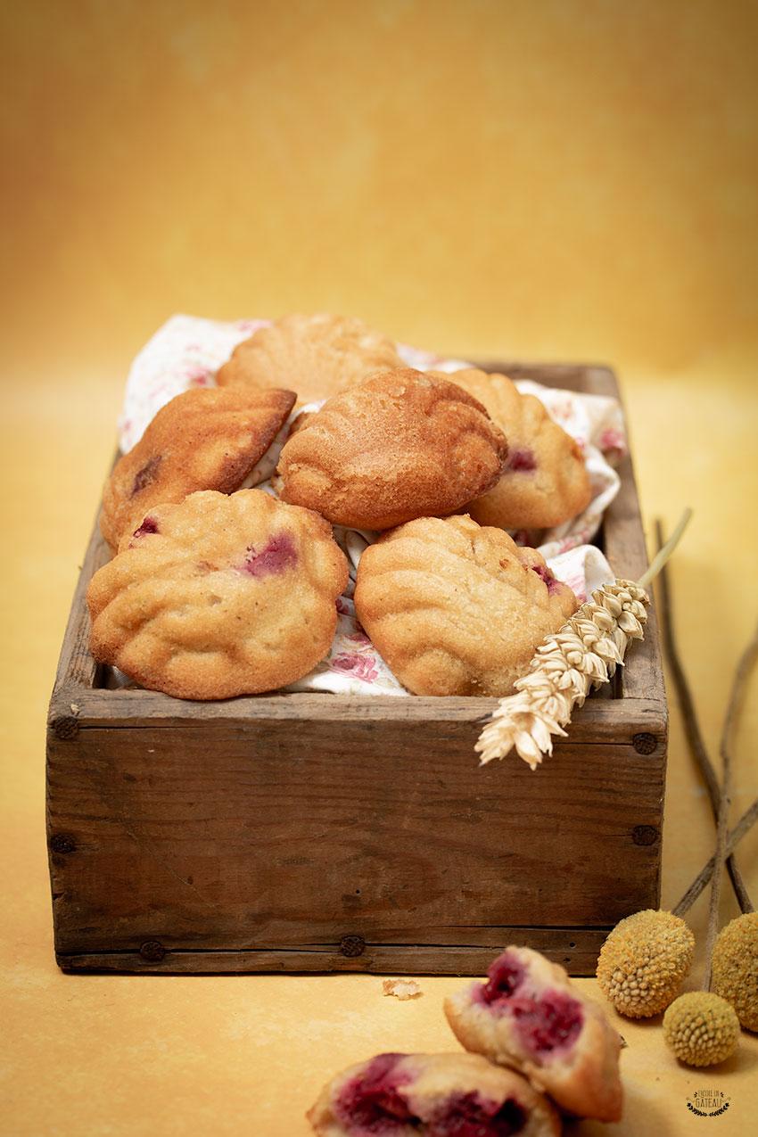 recette felder moelleux pistache framboise