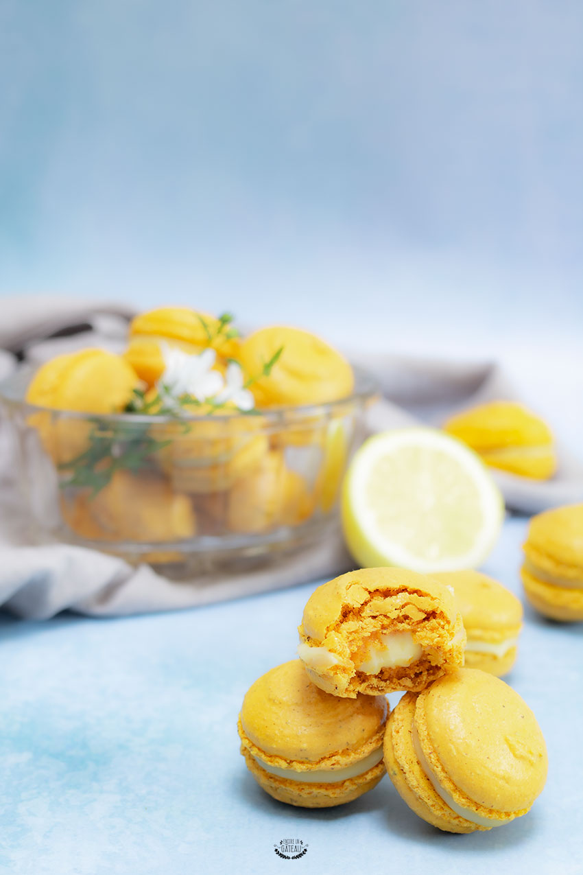 recette macaron citron