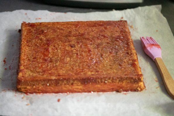 confiture fraise tarte michalak