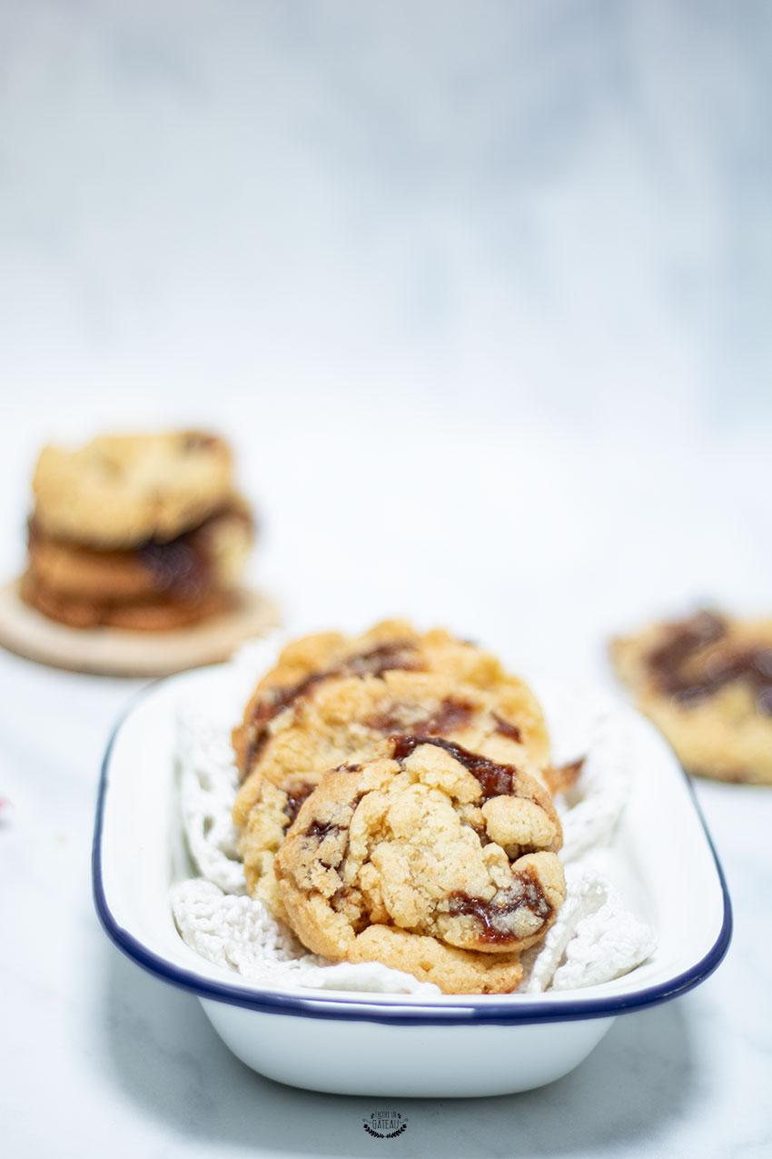 cookies carambar caramel