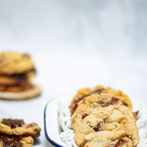cookies caramel carambar