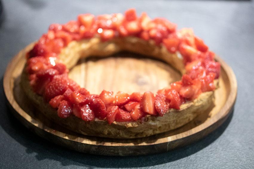 couronne fraises