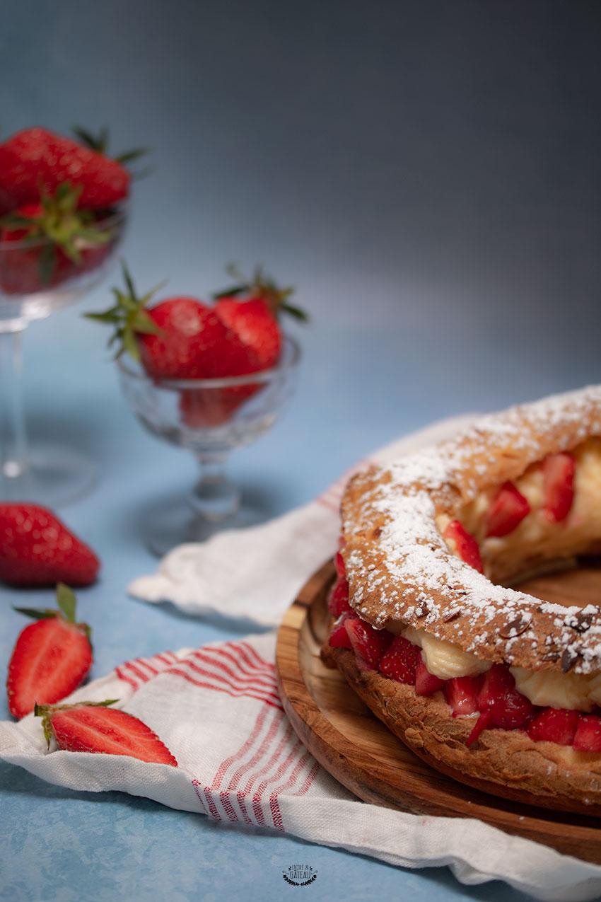 paris brest fraise