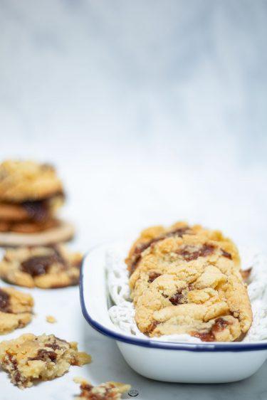 recette cookies carambar