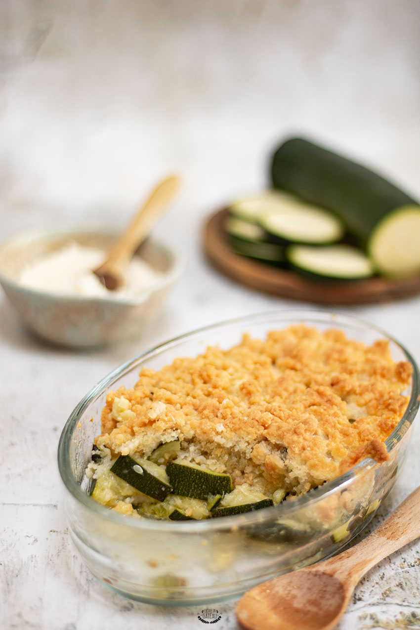 recette crumble courgettes