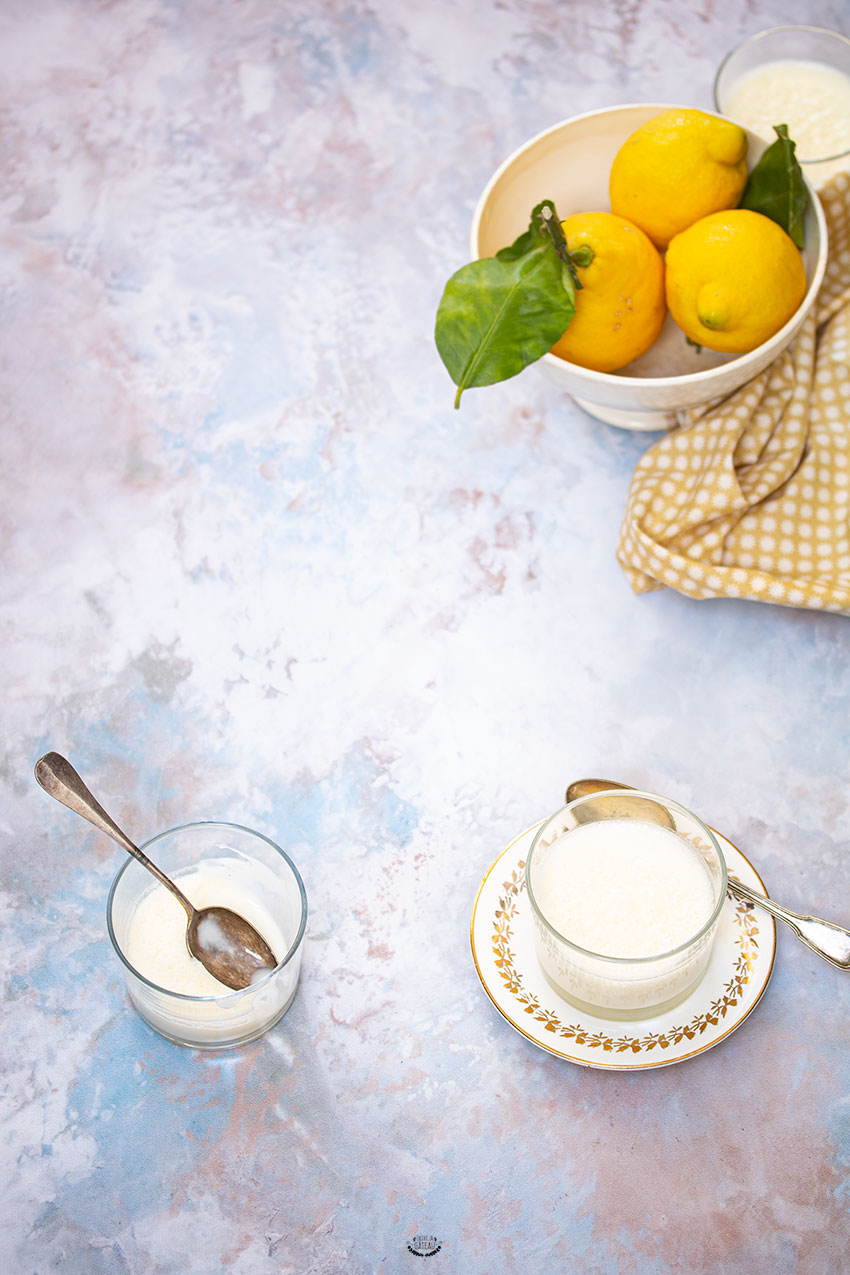 recette lemon posset