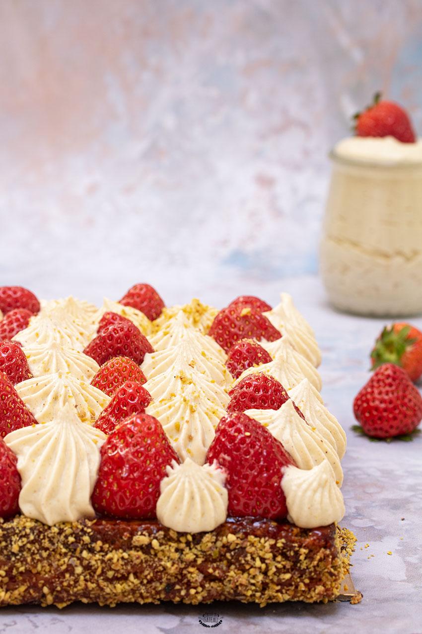 tarte fraise pistache michalak