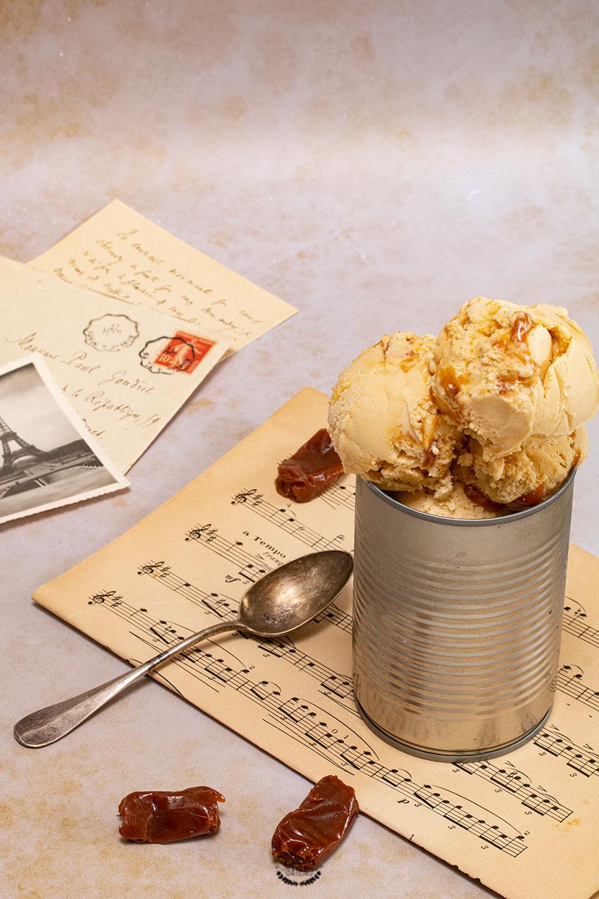 glace caramel beurre salé recette