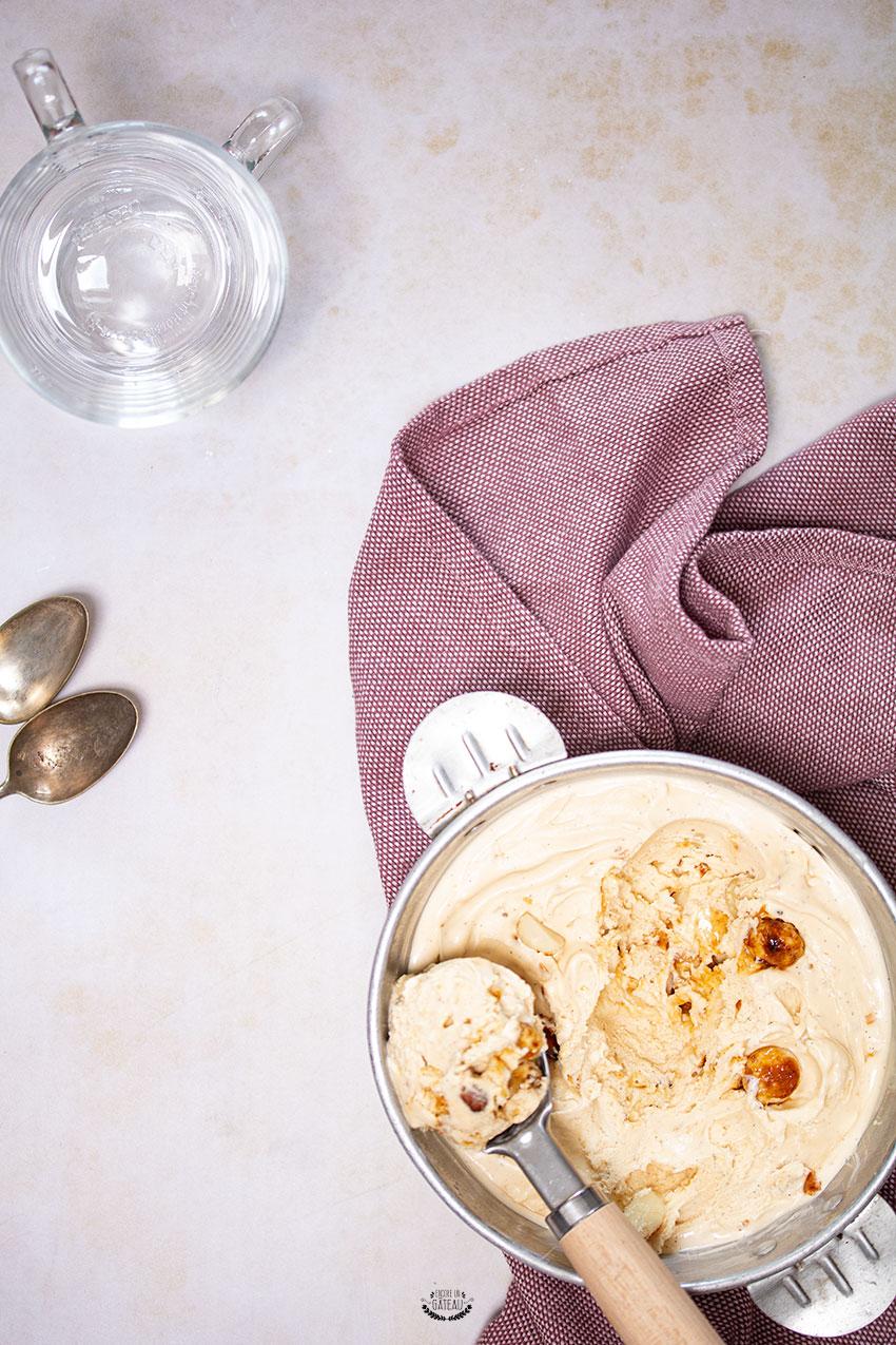 glace vanille macadamia