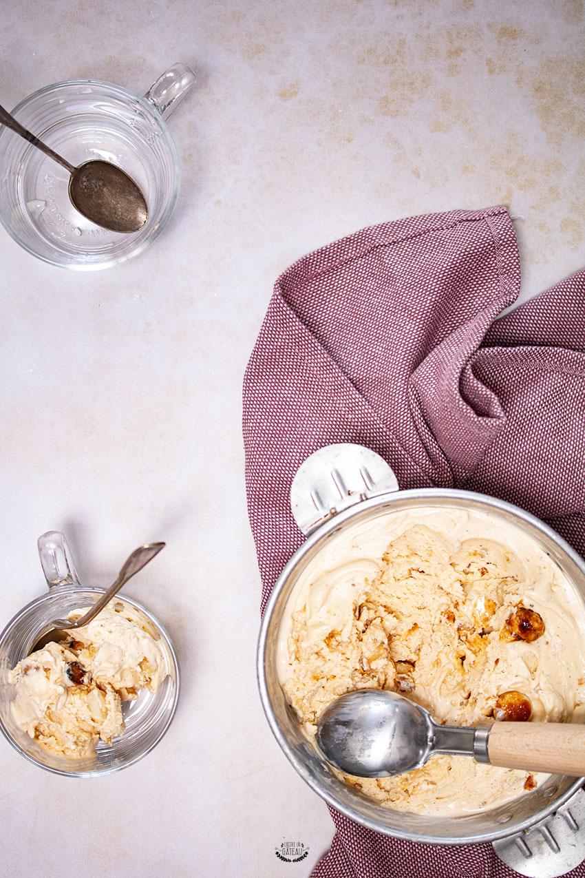 glace vanille noix de macadamia