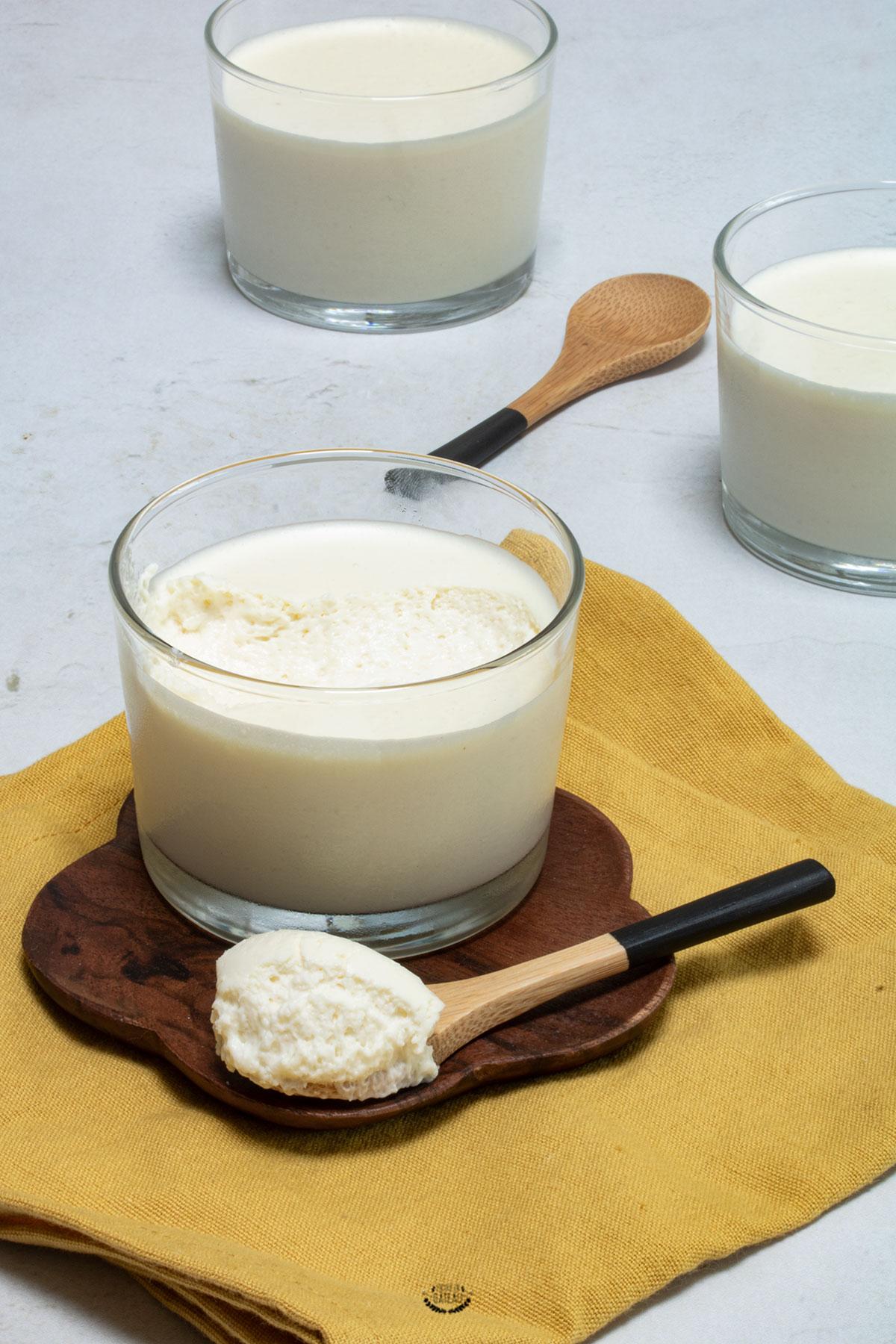 mousse coco chocolat blanc