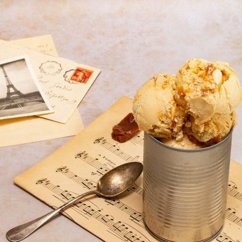 recette glace caramel beurre salé