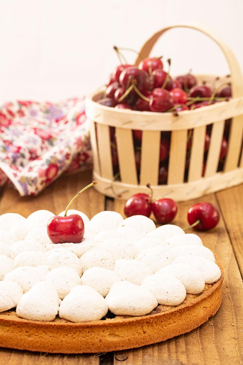 recette tarte cerise pistache