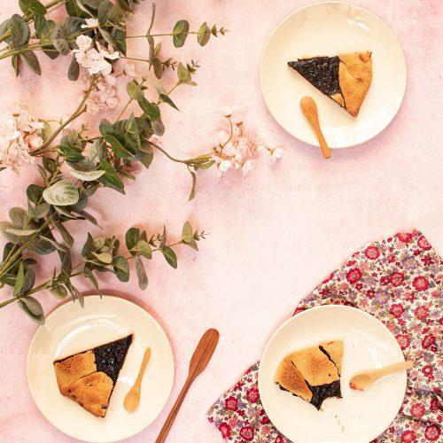 recette tarte rustique myrtille