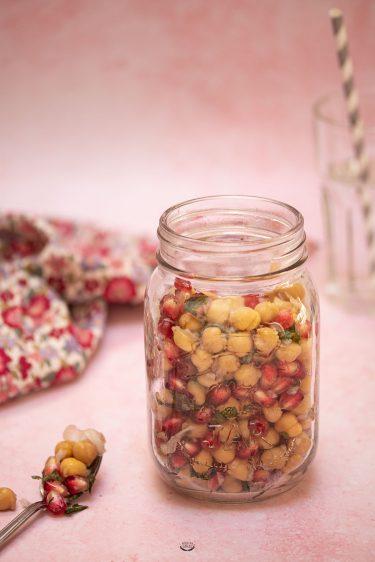 salade grenade pois chiches