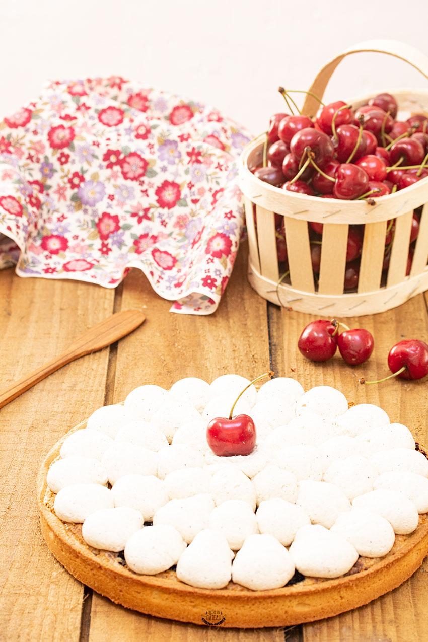 tarte amandine cerise pistache