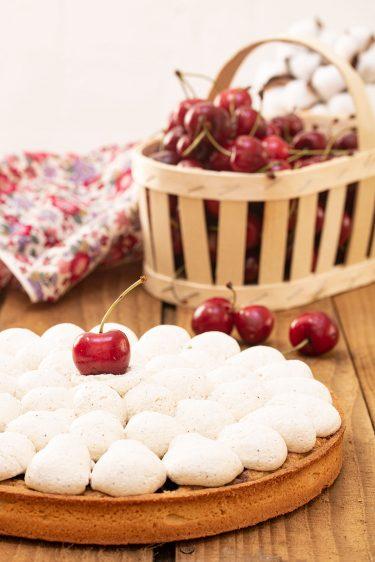 tarte pistache cerise