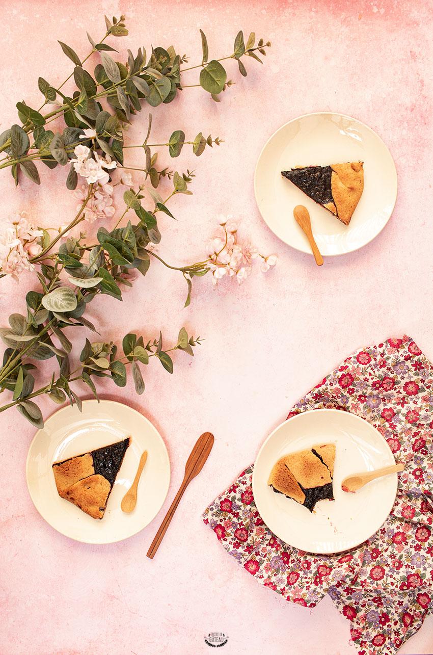 tarte rustique myrtilles recette