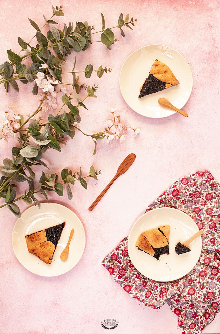tarte rustique myrtilles