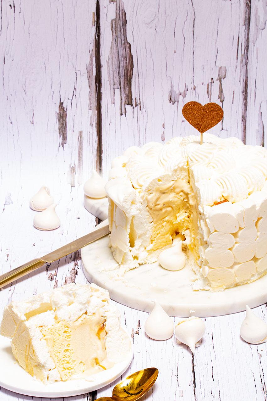 vacherin vanille caramel