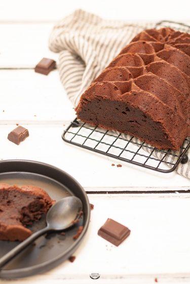 cake fondant chocolat amandes
