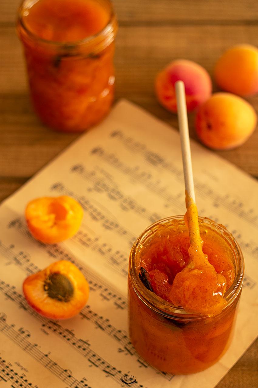 recette confiture abricots maison