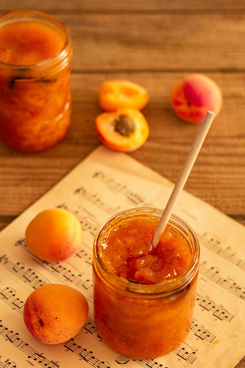 recette confiture abricots
