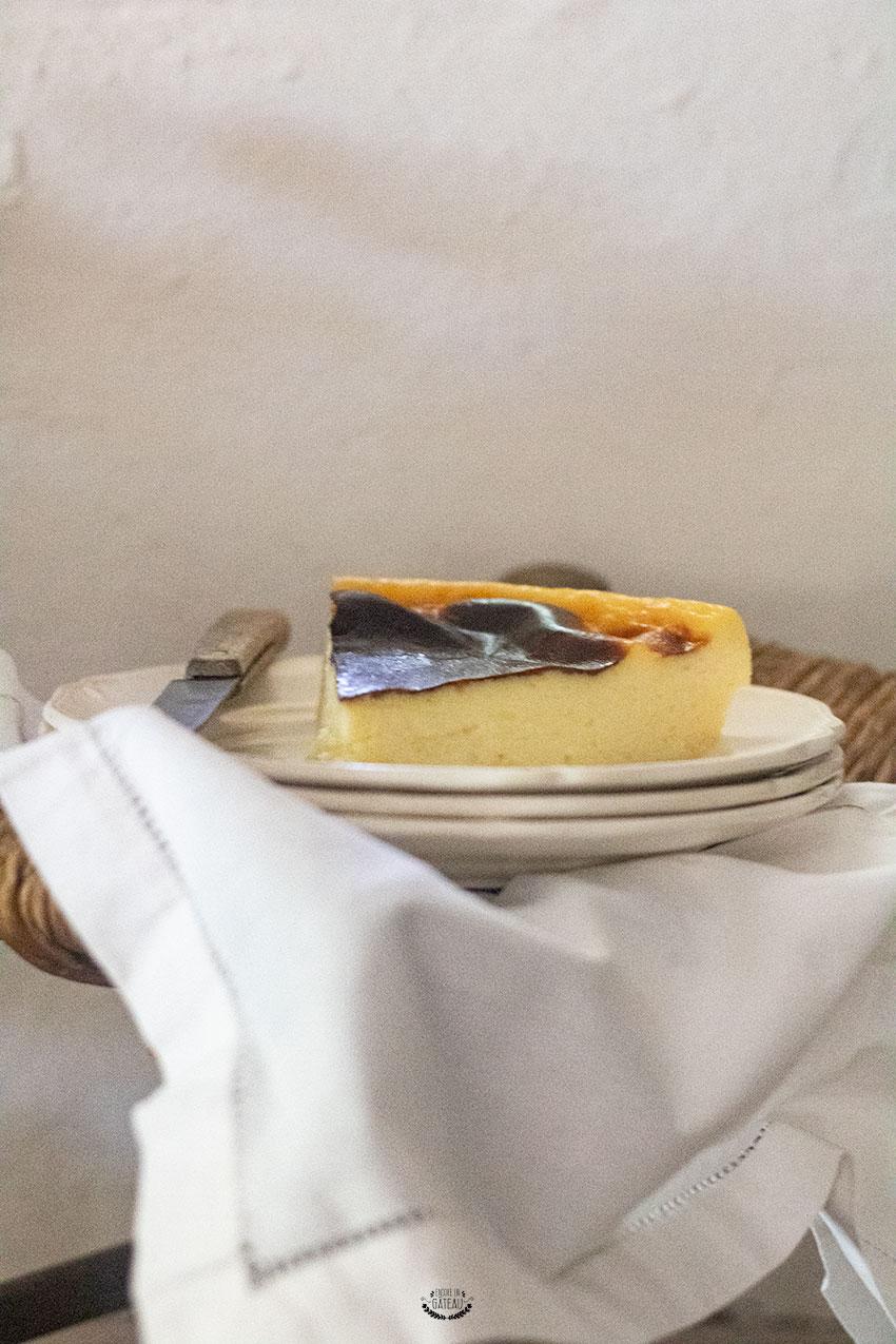 flan à base de lait concentré sucré