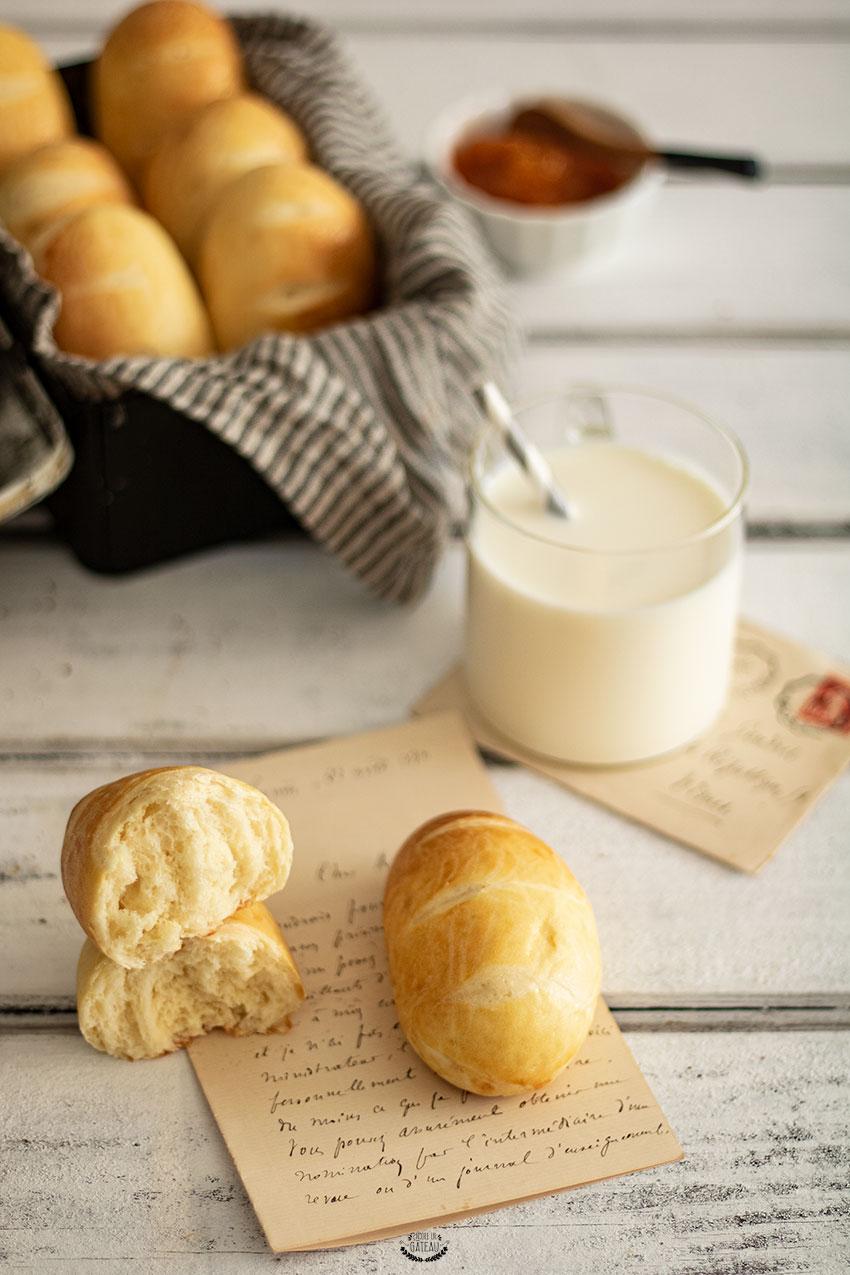 pains au lait recette cap