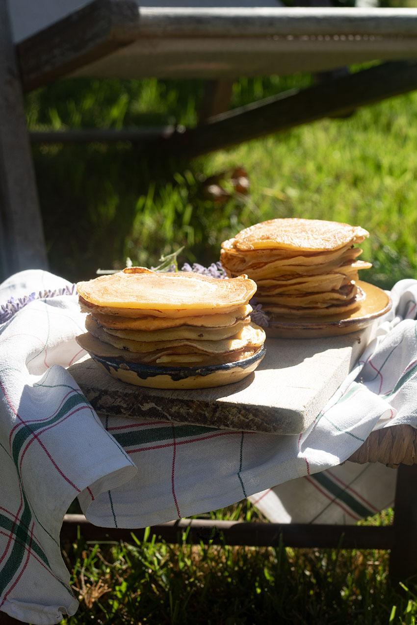 pancakes au yaourt recettes