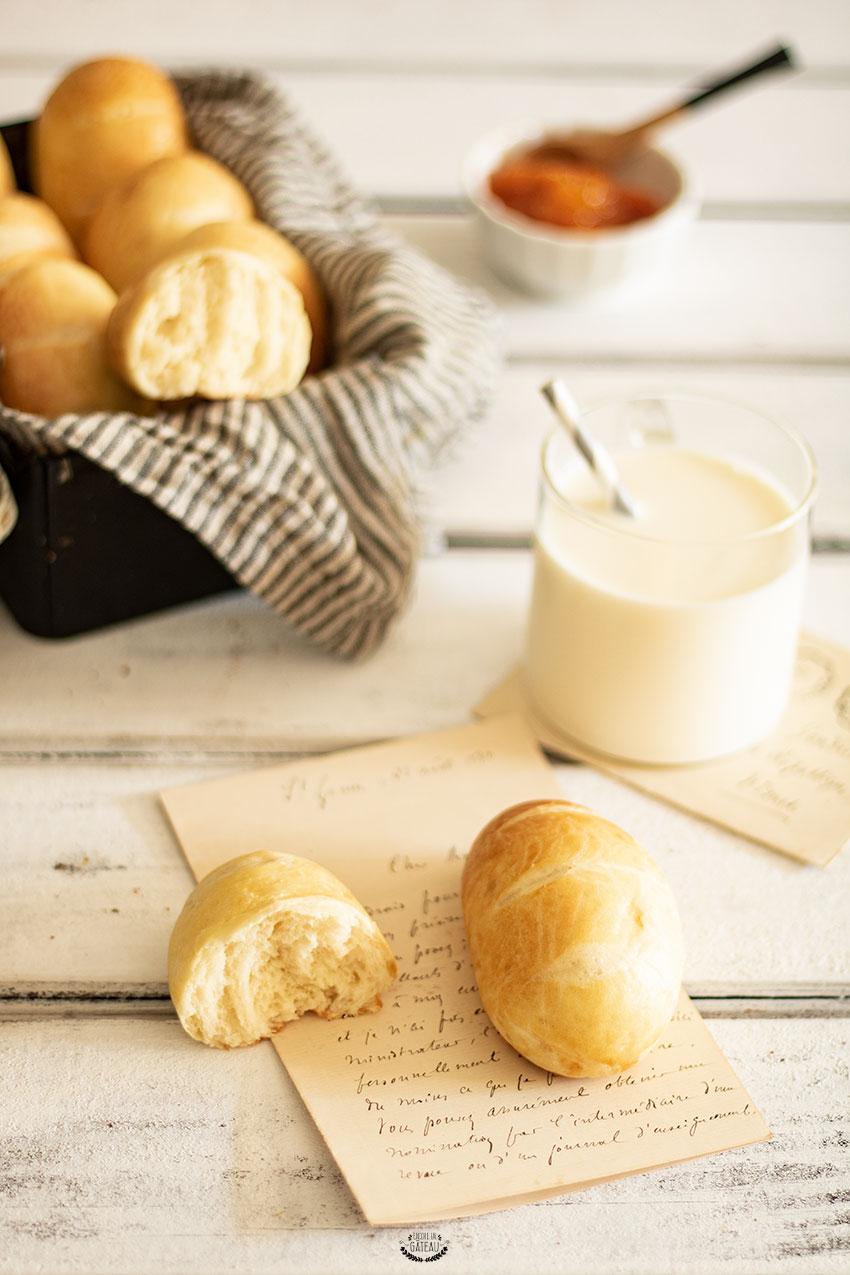 recette pains au lait cap