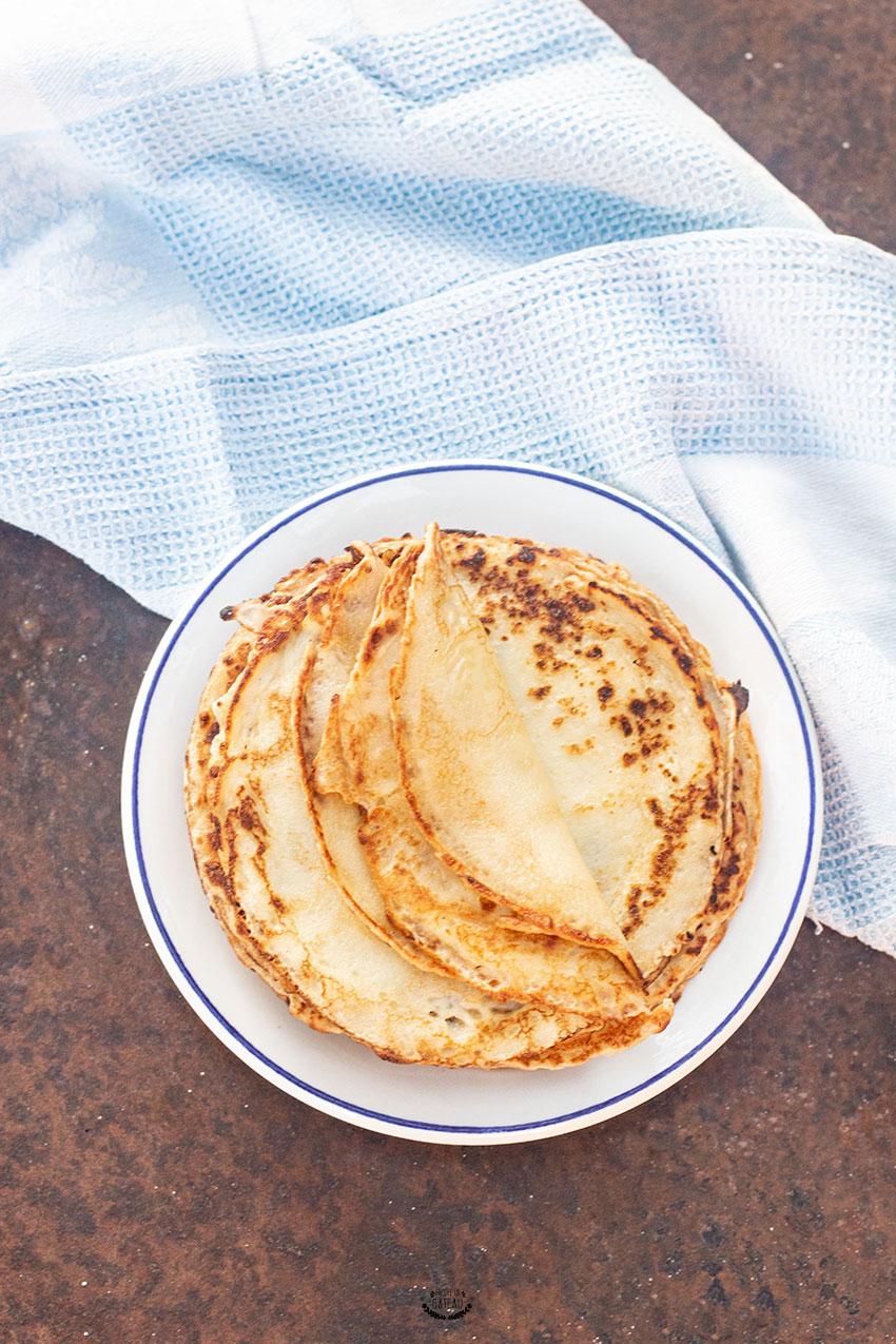 crêpes au yaourt sans oeuf
