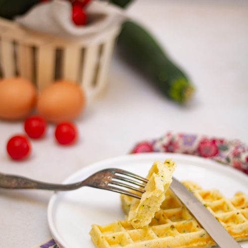 recette gaufres courgettes
