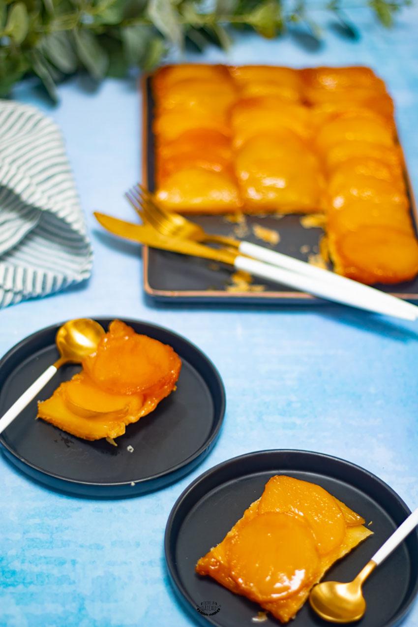 recette tatin mangue