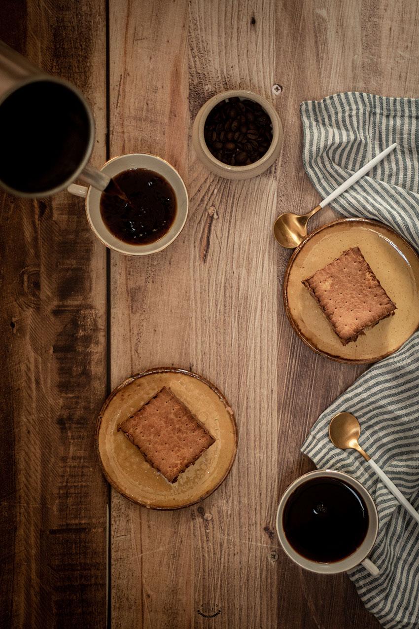 gâteau petits bruns café chocolat