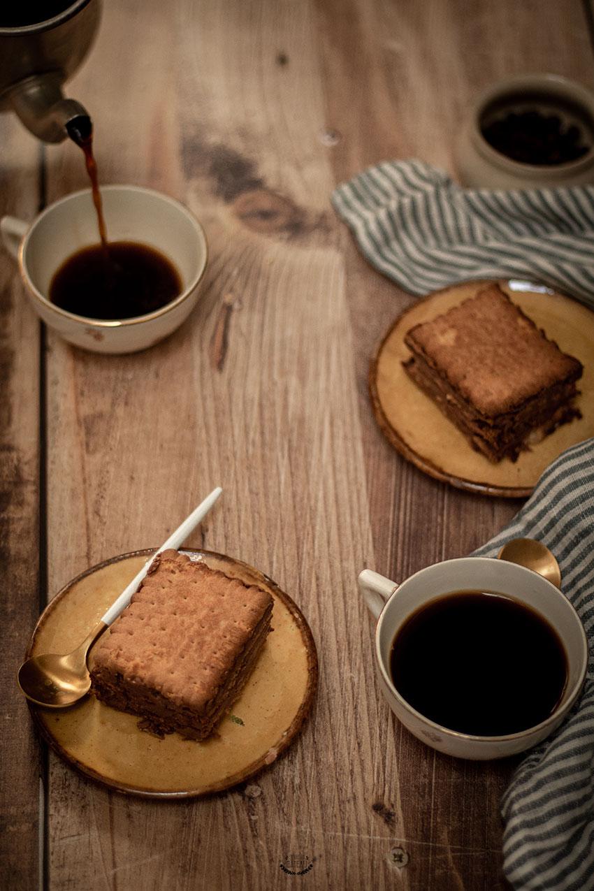 gâteau petits bruns chocolat café