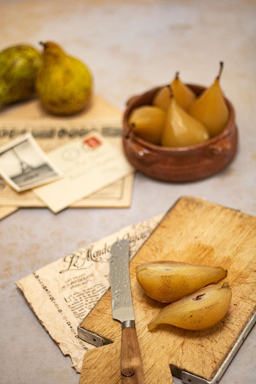 recette poires au sirop