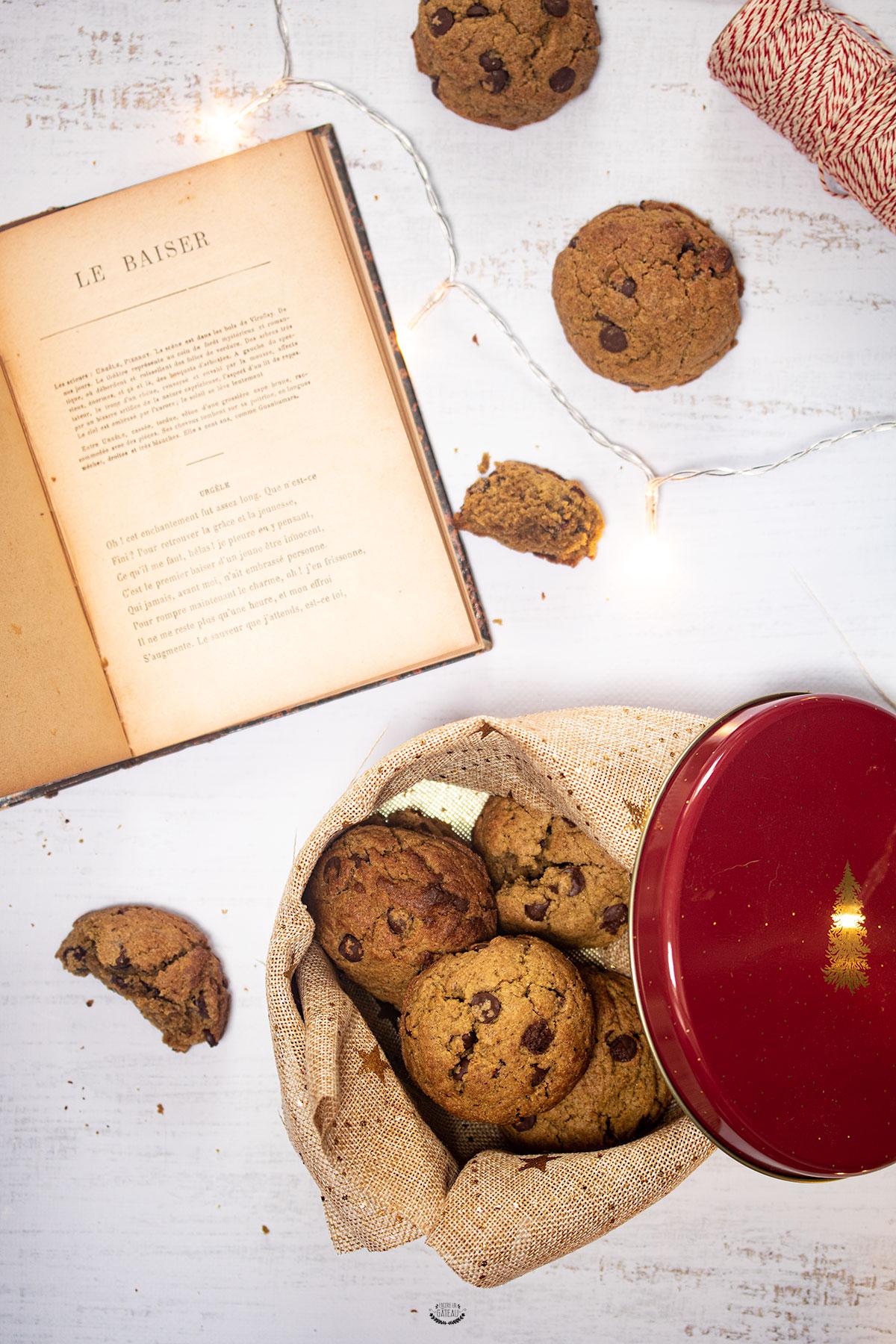 cookies pâte de pistache