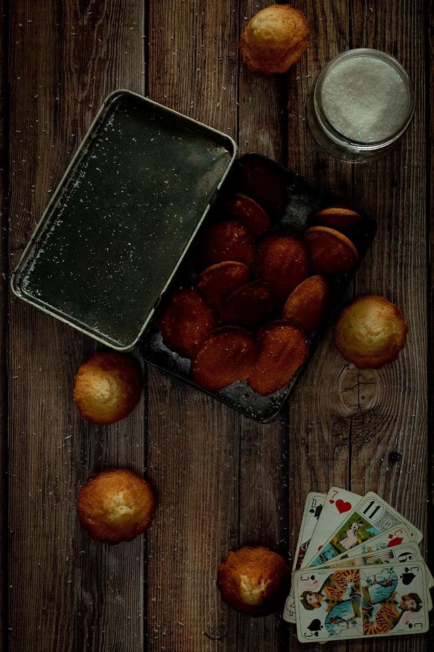 faire madeleines coco