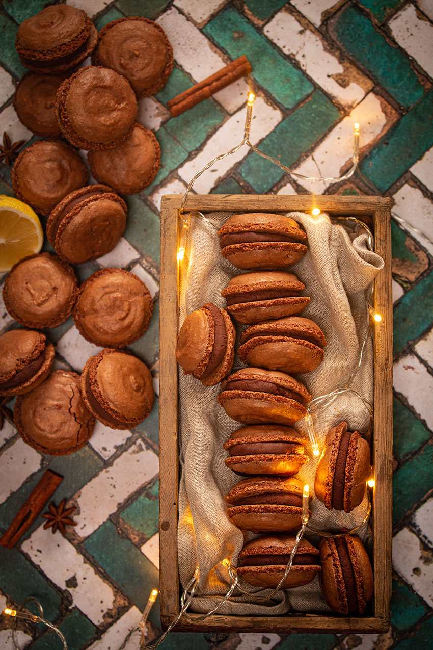 macarons pierre hermé chocolat yuzu pain d'épices