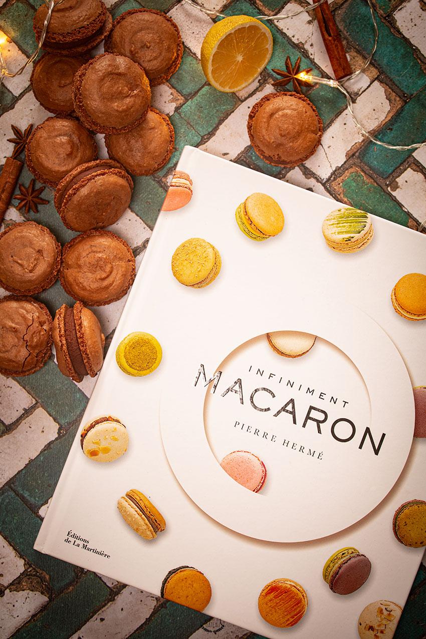 macarons chocolat pierre hermé