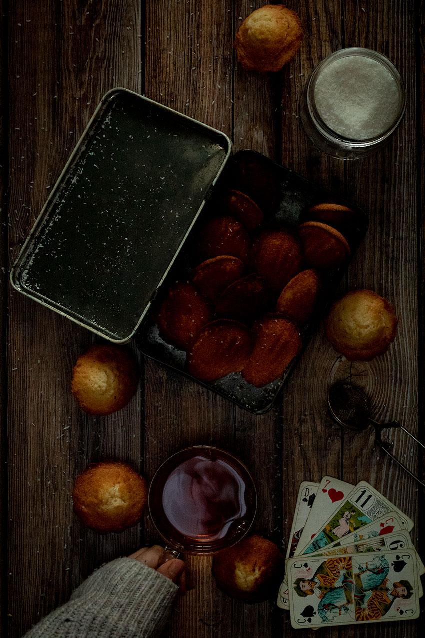 madeleines noix de coco