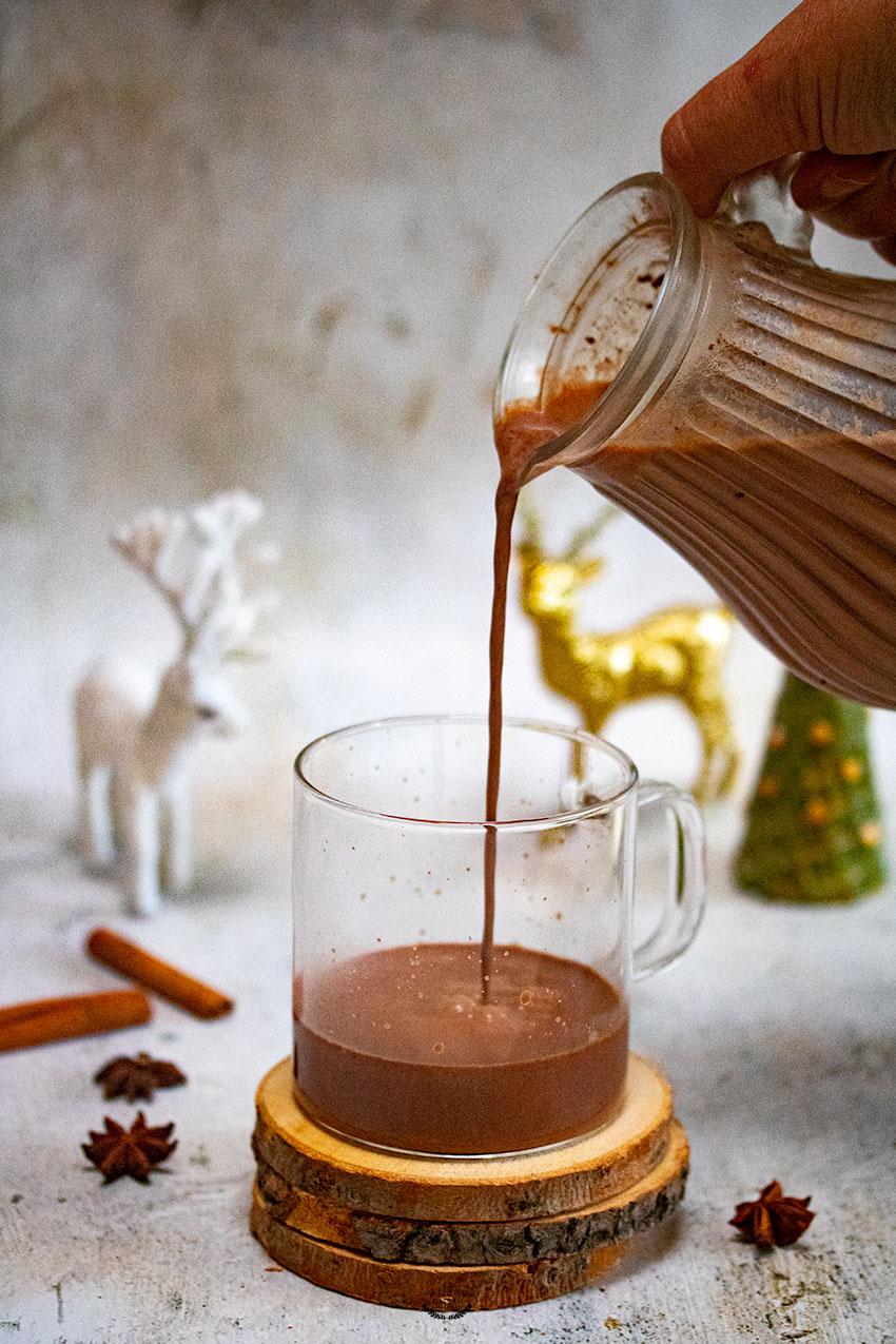 recette chocolat chaud aux épices