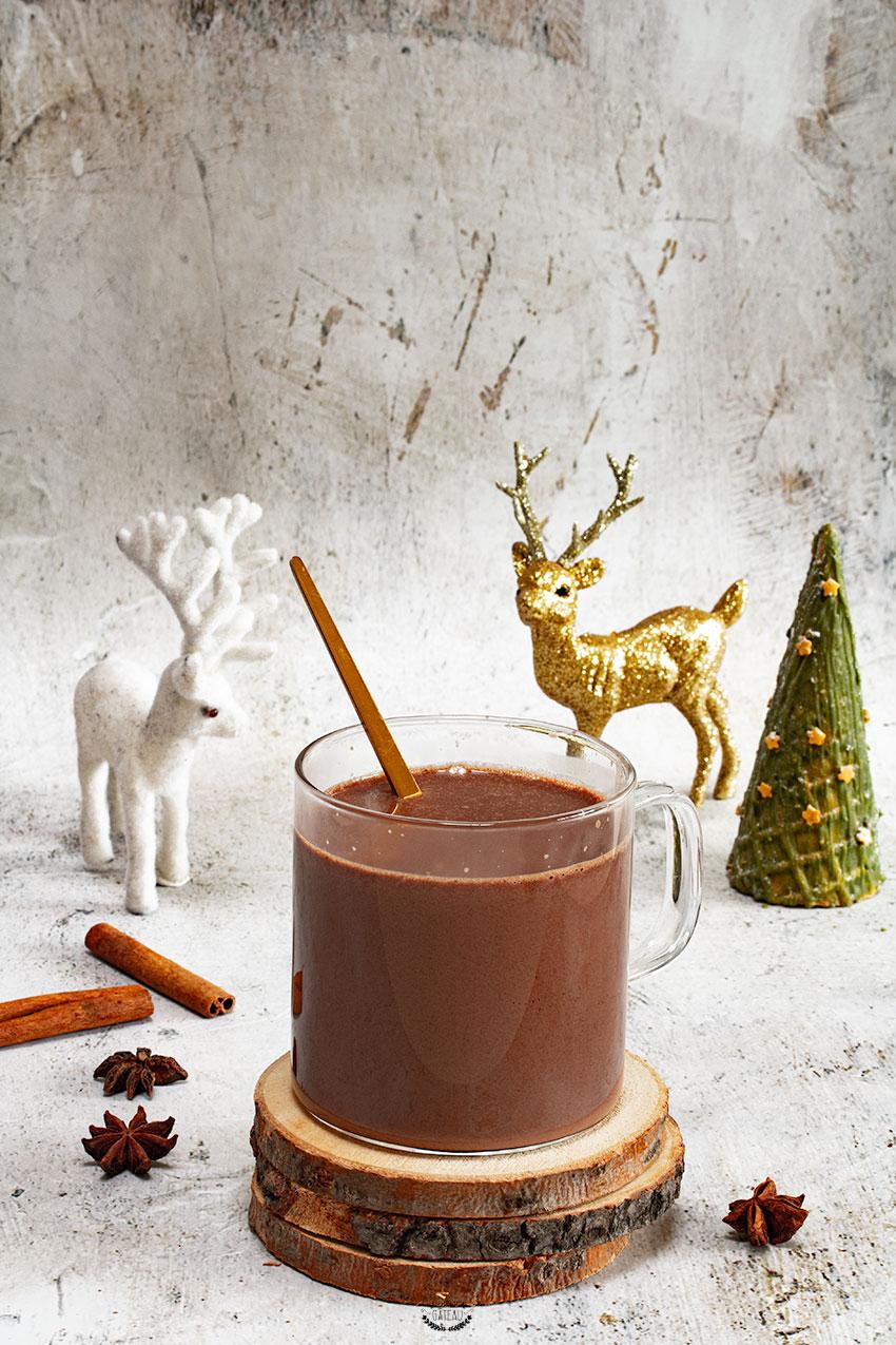 recette chocolat chaud noël