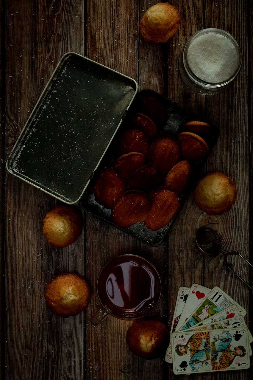 recette madeleines coco