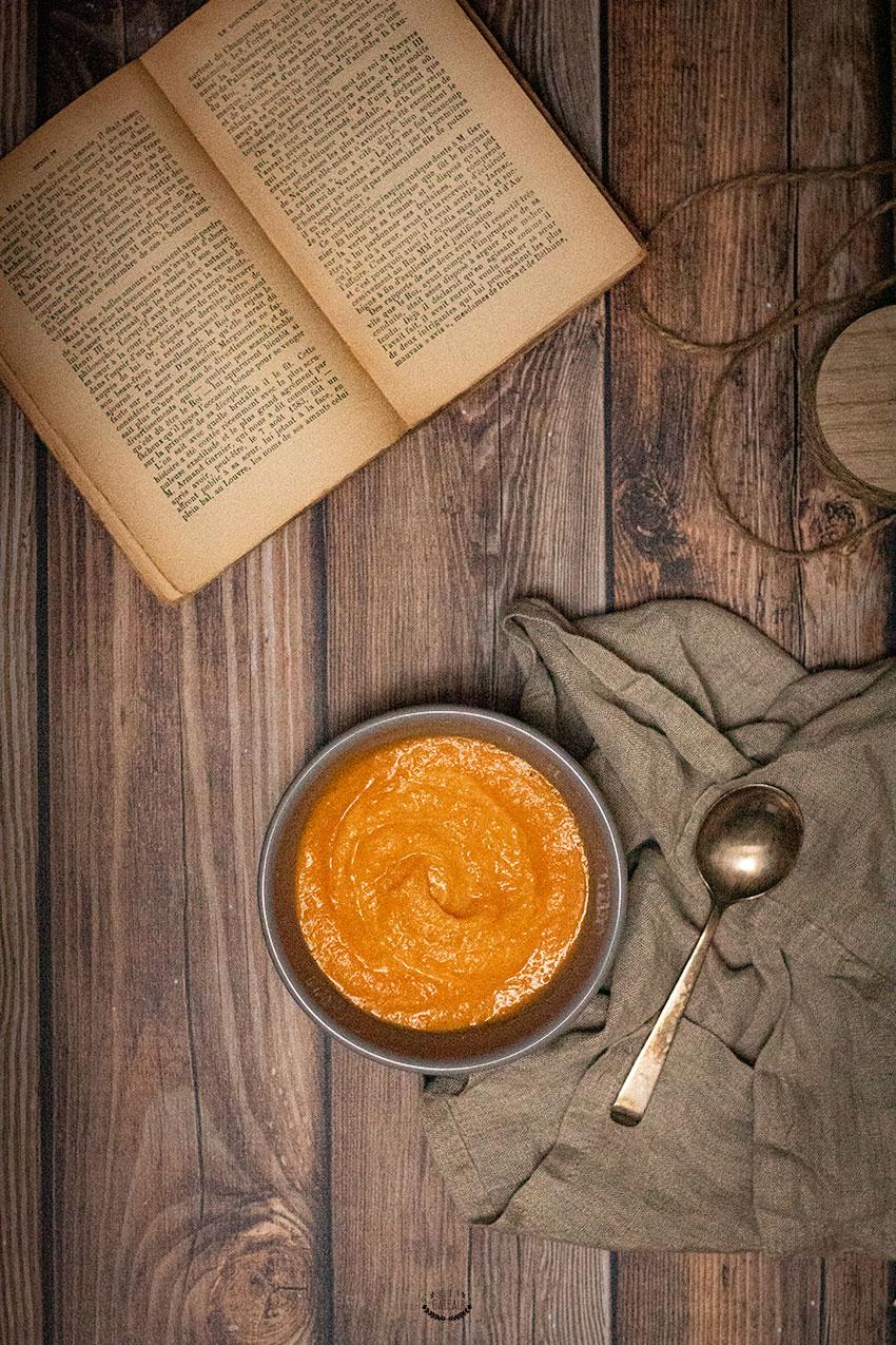 recette soupe carottes maison